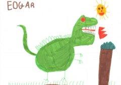 Un dinosauro